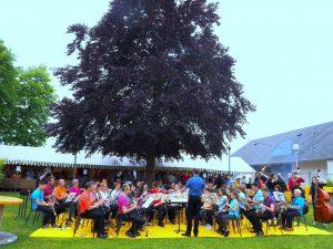 groupe de musique Harmonie de Meung-sur-Loire © Clodelle45