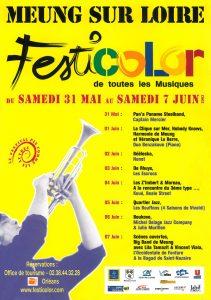 affiche du festival festicolor 2003