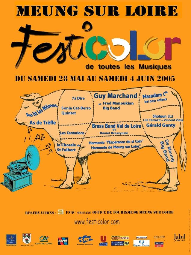 affiche festicolor 2005 © D.R.