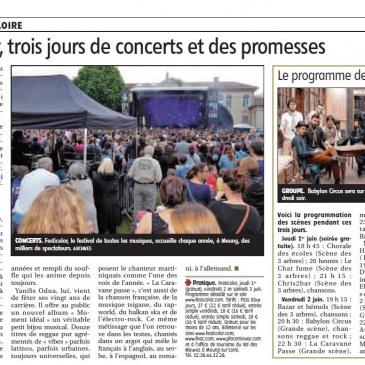 article 29/05/2017 – Festicolor, trois jours de concerts et de promesses