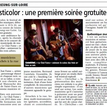 article 01/06/2017 – Festicolor : une première soirée gratuite
