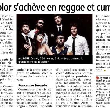 article 03-06-2017 – Festicolor s'achève en reggae et cumbia