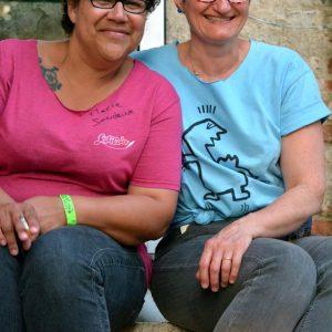Marie-Sandrine et Agnès © Corinne Girard