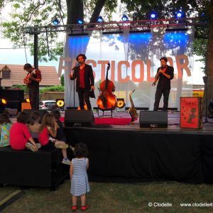 Concert Le Chat fume à Festicolor 2017 © Clodelle45