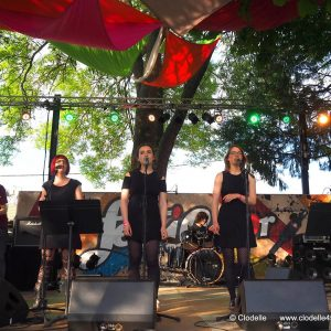 Concert Red lips à Festicolor 2016 ® Clodelle 45
