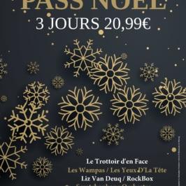Offre Noël pass Festicolor 2018