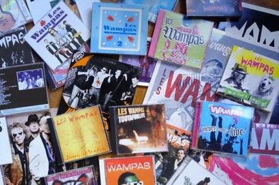 Discographie des wampas © D.R.