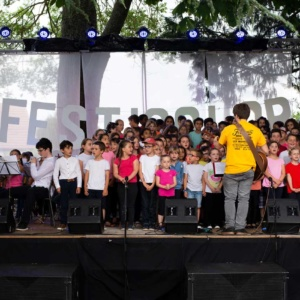 Concert Chorale des écoles à Festicolor 2018 © Q.Viel