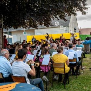 Concert Harmonie de Meung à Festicolor 2018 © Michel Piedallu