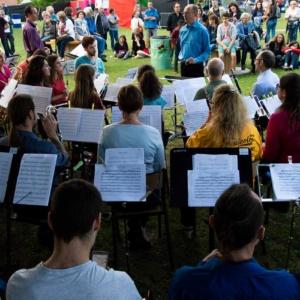 Concert Harmonie de Meung à Festicolor 2018 © Q.Viel