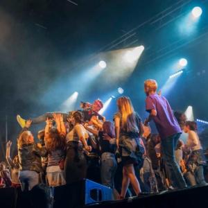 Concert Les Wampas à Festicolor 2018 © Michel Piedallu