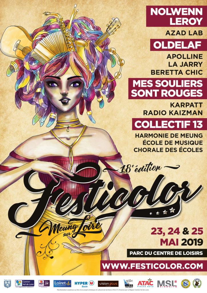 Affiche Festicolor 2019