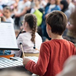 Concert des écoles à Festicolor 2019 © Q.Veil